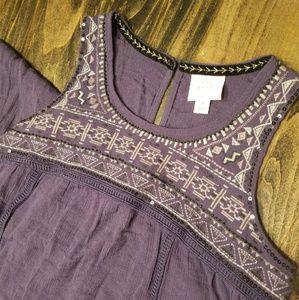 Knox Rose purple embellished dress - small